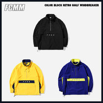 ◆FCMM◆ COLOR BLOCK RETRO WINDBREAKER (全3色) 人気 韓国発