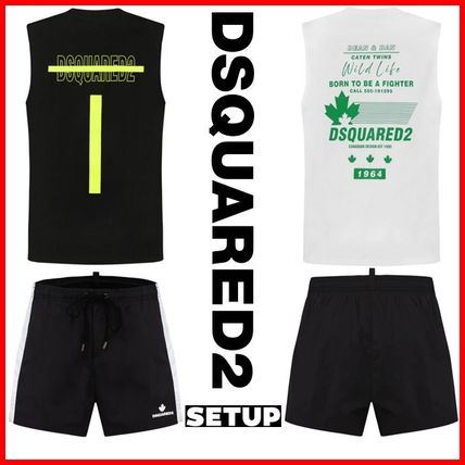 D SQUARED2 セットアップ ★D SQUARED2★ロゴプリントセットアップ上下☆正規品・大人気☆