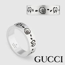 【GUCCI】GucciGhost ring in silver★アートリング★追跡付