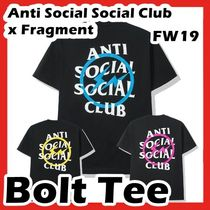 Anti Social Social Club x Fragment Bolt Tee FW 19 2019
