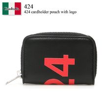 424 cardholder pouch with logo