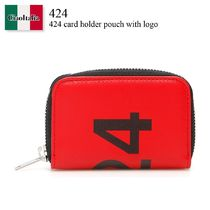 424 card holder pouch with logo