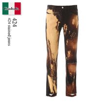 424 stained jeans