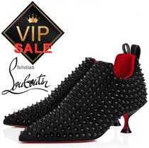 Christian Louboutin ルブタン Partez Spikes 55 mm ブーティ
