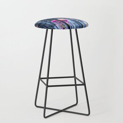 Society6 椅子・チェア 日本未入荷・送料無料 Winter Forest of Electric Jellyfish Wor(2)