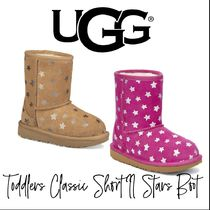 【UGG】TODDLERS CLASSIC SHORT II STARS BOOT トドラー ブーツ