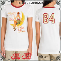 ★Dolce & Gabbana★BRING ME TO THE MOON ジャージーTシャツ
