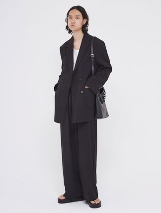 OPEN THE DOOR セットアップ OPENTHEDOOR★UNISEX OVERSIZE SUIT SET UP(BLAZER+PANTS)(3)
