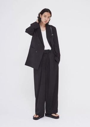 OPEN THE DOOR セットアップ OPENTHEDOOR★UNISEX OVERSIZE SUIT SET UP(BLAZER+PANTS)(5)