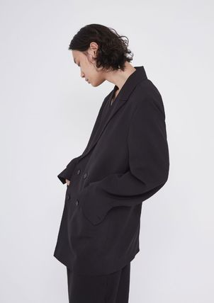 OPEN THE DOOR セットアップ OPENTHEDOOR★UNISEX OVERSIZE SUIT SET UP(BLAZER+PANTS)(7)