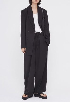 OPEN THE DOOR セットアップ OPENTHEDOOR★UNISEX OVERSIZE SUIT SET UP(BLAZER+PANTS)(11)
