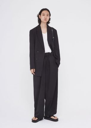 OPEN THE DOOR セットアップ OPENTHEDOOR★UNISEX OVERSIZE SUIT SET UP(BLAZER+PANTS)(18)