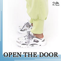 OPEN THE DOOR★sporty mule sneakers 2color