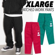 US発☆【XLARGE】PATCHED WORK PANTS 選べる3色
