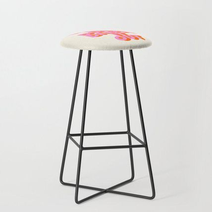 Society6 椅子・チェア 日本未入荷・送料無料 Dance it out Bar Stool(2)