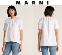 [関税・送料込] MARNI☆Contrast Stitch Cotton Blouse