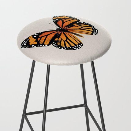 Society6 椅子・チェア 日本未入荷・送料無料 Monarch Butterfly | Vintage Butterfly |