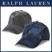 ☆ RALPH LAUREN ☆ Camo Canvas キャップ ★