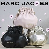 MARC JACOBS★SOIREE POUCH LOCK 羊革 巾着ショルダーバッグ