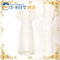 送料無料★セール中★Cotton-blend lace dress