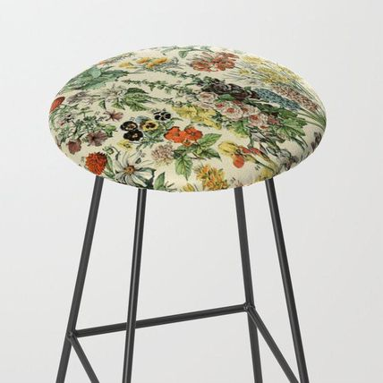 Society6 椅子・チェア 日本未入荷・送料無料 Adolphe Millot Vintage Fleurs Flower 19