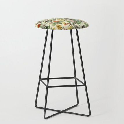 Society6 椅子・チェア 日本未入荷・送料無料 Adolphe Millot Vintage Fleurs Flower 19(2)