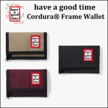 have a good time(ハブアグットタイム) 折りたたみ財布 【SALE】HAVE A GOOD TIME★Cordura Frame Wallet 財布