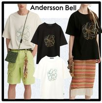 ANDERSSON BELL(アンダースンベル) Tシャツ・カットソー ☆関税込☆ANDERSSON BELL★ SUMMER FLEUR EMBROIDERY T-SHIRT★