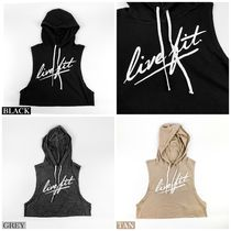 Live Fit(リブフィット) Tシャツ・カットソー STRIKE CROP SLEEVELESS HOODIE