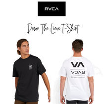 【RVCA】DOWN THE LINE SHORT SLEEVE T-SHIRT Tシャツ シンプル