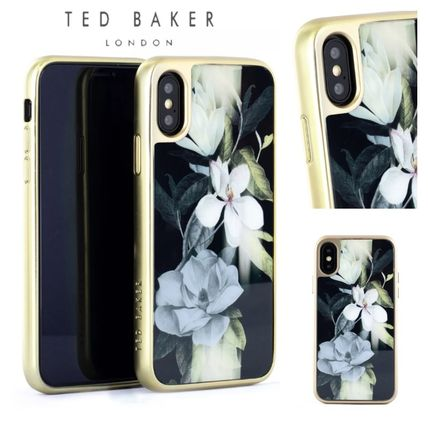 TED BAKER スマホケース・テックアクセサリー 【国内発送】Ted Baker Hedgerow iPhone X/XS 用ケース Opal