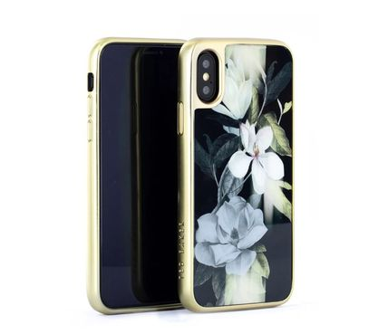 TED BAKER スマホケース・テックアクセサリー 【国内発送】Ted Baker Hedgerow iPhone X/XS 用ケース Opal(2)