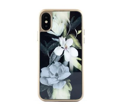 TED BAKER スマホケース・テックアクセサリー 【国内発送】Ted Baker Hedgerow iPhone X/XS 用ケース Opal(3)