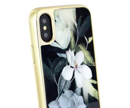 TED BAKER スマホケース・テックアクセサリー 【国内発送】Ted Baker Hedgerow iPhone X/XS 用ケース Opal(4)