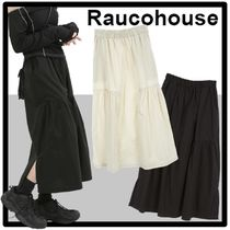 ★送料・関税込★Raucohouse★CASUAL SHIRRING LONG SKIRT★