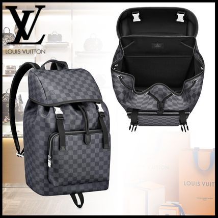 20SS Louis Vuitton ザック・バックパック ダミエ・グラフィット