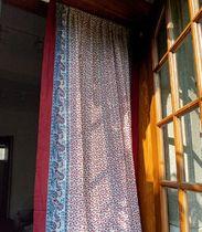 【DECO VIEW】Red ethnic Patchwork Curtain