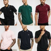 FRED PERRY(フレッドペリー) ポロシャツ 【関税・送料込】FRED PERRY◇ツインチップ ロゴ ポロシャツ 6色