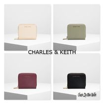 CHARLES & KEITH【Classic Zip Mini Wallet】 二つ折り 財布