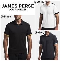 JAMES PERSE(ジェームスパース) メンズ・トップス 【James Perse】☆ゴルフ☆Y/OSEMITE SHOULDER STRIPE POLO