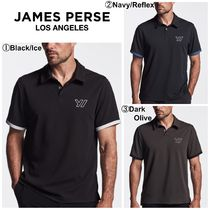 JAMES PERSE(ジェームスパース) メンズ・トップス 【James Perse】☆ゴルフ☆Y/OSEMITE PERFORMANCE PIQUE POLO