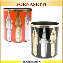 FORNASETTI★Permanent Collection*printed paper basket