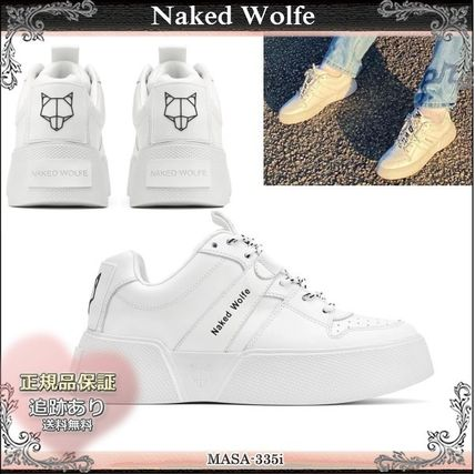 Naked Wolfe スニーカー 20SS☆送料込【Naked Wolfe】 PIXIE レースアップ スニーカー