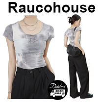 Raucohouse KITSCH STAR CROPPED TOP JH286 追跡付