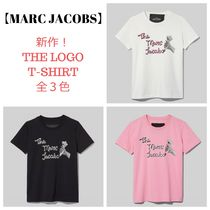 新作!【MARC JACOBS】The Logo T-shirt 全3色