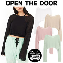 OPEN THE DOOR net wave crop T MH1696 追跡付