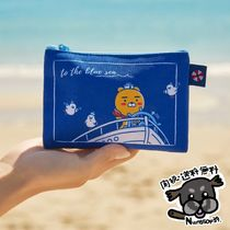 【KakaoFriends】2020 Summer Marine Mini Pouch (Ryan/Apeach)