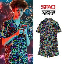 [SPAO x STRANGER THINGS] 半袖パジャマセット MIX★UNISEX