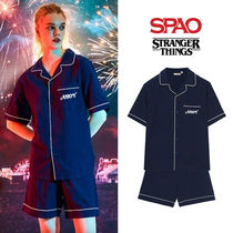 [SPAO x STRANGER THINGS] パジャマセットアップ NAVY★UNISEX