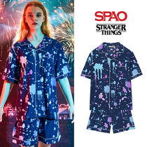 [SPAO x STRANGER THINGS] パジャマセットアップ MULTI★UNISEX